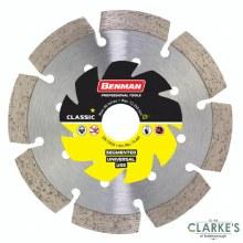 Benman Universal Diamond Cutting Disc 115mm