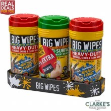 Big Wipes Triple Pack 25% Extra Free