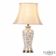 Blakely Brushed Bronze Ceramic Table Lamp 69cm