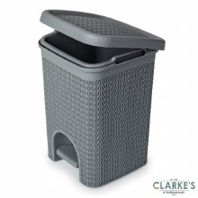 Blue Canyon Lace Design Pedal Bin 5 Litre