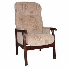 Brandon Fireside Chair Beige