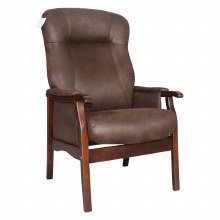 Brandon Fireside Chair Brown