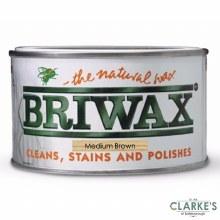 Briwax Original Wax Medium Brown 400g