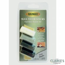 Briwax Wax Furniture Repair Filler Sticks Grey Shades