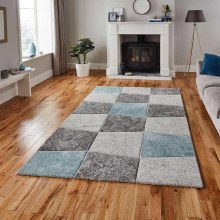 Brooklyn Blue/Grey Rug 120x170cm