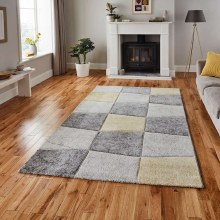 Brooklyn Grey/Yellow Rug