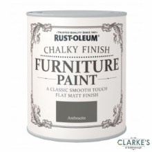 Rust-Oleum Chalky Finish Furniture Paint Anthracite 125 ml