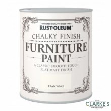 Rust-Oleum Chalky Finish Furniture Paint Chalk White 125 ml