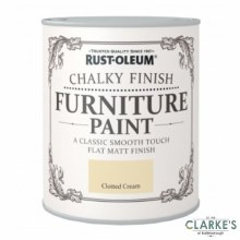 Rust-Oleum Chalky Finish Furniture Paint Clotted Cream 125 ml
