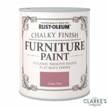 Rust-Oleum Chalky Finish Furniture Paint Dusty Pink 125 ml