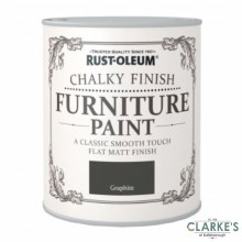 Rust-Oleum Chalky Finish Furniture Paint Graphite 125 ml