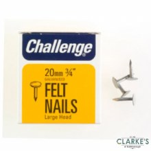 Challange Felt - Head Clout Nails