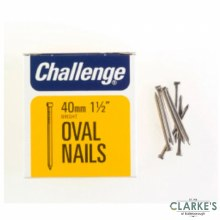 Challange Oval Wire Nails 40mm