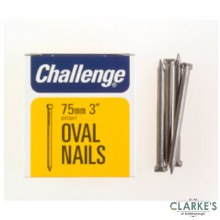 Challange Oval Wire Nails 75mm