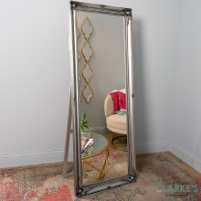 Chateau Cheval Free Stand Mirror Large Silver 168cm