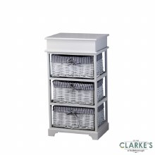 Chester Storage Unit with 3 Baskets