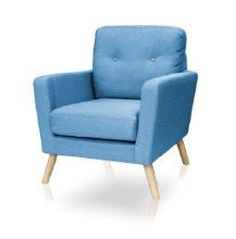 Cleo Accent Chair Teal Colour