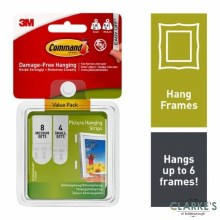 Command 3M Picture Hanging Strips Value Pack