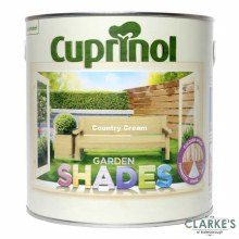 Cuprinol Garden Shades Country Cream 1 Litre
