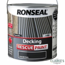 Ronseal Decking Rescue Paint Charcoal 2.5 Litre