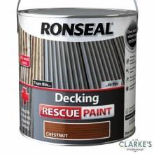 Ronseal Decking Rescue Paint Chestnut 2.5 Litre
