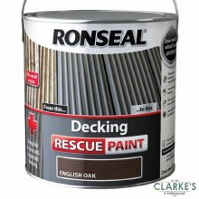 Ronseal Decking Rescue Paint English Oak 2.5 Litre