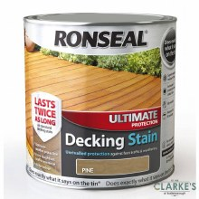 Ronseal Pine Ultimate Protection Decking Stain 2.5 Litre