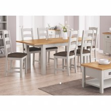 Devon Dining Set. Table and 6 Chairs