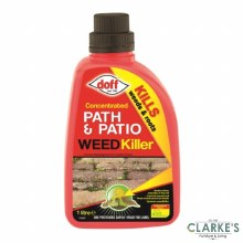 Doff Path & Patio Weedkiller Concentrate 1 Litre