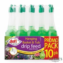 Doff Hanging Basket and Tube Drip Feed