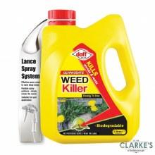 Doff Knockdown Weedkiller 3 Litre
