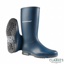 Dunlop Ladies Navy Wellies Size 6.5