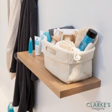 Duraline Floating Shelf Gloss Oak 60 cm