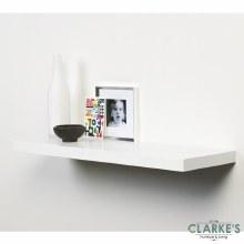 Duraline Floating Shelf Gloss White 60 cm