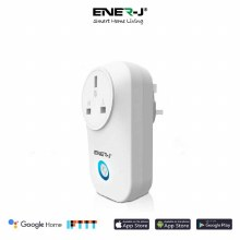 ENER-J Smart WIFI Plug with Energy Monitor 16A