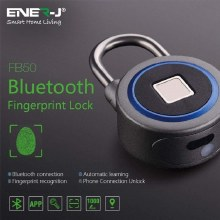 ENER-J Smart Bluetooth Fingerprint Padlock