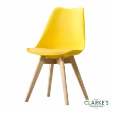 Eames Dining Chair Yellow