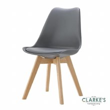 Eames Dining Chair Grey