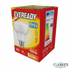 Eveready LED 10.5W (60W) E27 R80 Light Bulbs 5 pack