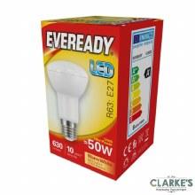 Eveready LED 7.8W (50W) E27 R63 Light Bulbs 5 Pack