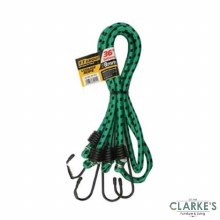 F.F. Group Bungee Straps 92 cm | Pack of 2