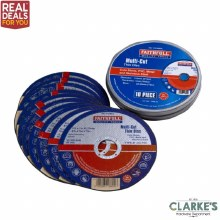 Faithfull Multi-Cut Thin Discs 10 Piece