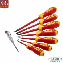 Faithfull VDE Screwdriver Set 8 Piece