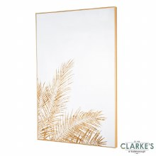 Fern Silhouette Wall Mirror - Wall Art