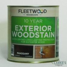 Fleetwood 10 Year Exterior Woodstain Mahogany 1 Litre