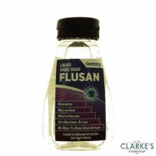 Flusan Antibacterial Liquid Soap 185 ml