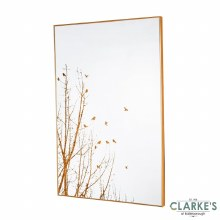 Forest Silhouette Mirror - Wall Art