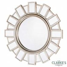 Gemma Champagne Wall Mirror 90cm