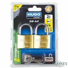 Hugo SB40 Set of 2 Padlocks