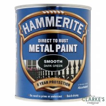 Hammerite Metal Paint Smooth Dark Green 750ml